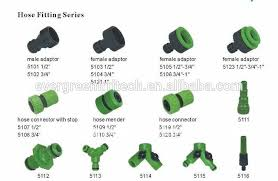 garden hose connector. Related Garden Hose Fittings Available: Plastic Material: Connector A
