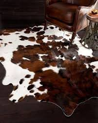 a star tm genuine cowhides brown and white cowhide rug 5