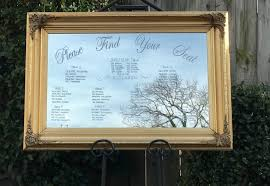 Mirror Table Seating Chart Mirror Seating Chart Wedding Mirror Seating Chart Wedding
