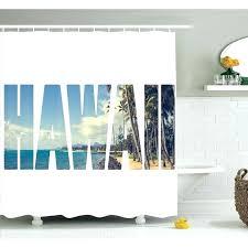 shower curtain green sea turtle fabric set bathroom curtains liner hawaii themed pink islands hawaiian decor