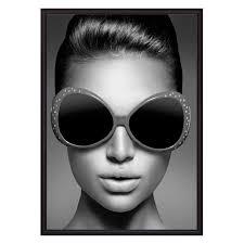 <b>Постер в рамке</b> Модные очки 50 х 70 см <b>Дом</b> Корлеоне купить ...