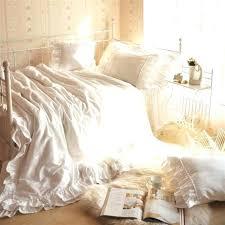 white ruffled comforter set ruffle comforter set queen white sets mini inside plan white ruffled comforter set