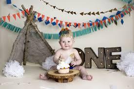 Southwest Cake Smash One Year Boy Photo Shoot Cake Smash