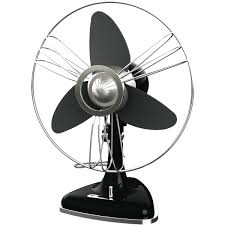 Goldair GCRDF310 30cm Vintage Metal Desk Fan at The Good Guys