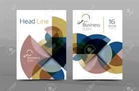 clean geometric design annual report cover leaflet business clean geometric design annual report cover leaflet business cover page brochure flyer layout