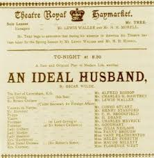 biography  an ideal husband