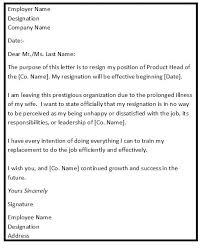 Great Different Types Resignation Letters Photos >> Different Types ...