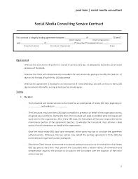 Consulting Contract Template Free Download It Consultant Contract Template Sample Consulting Contract