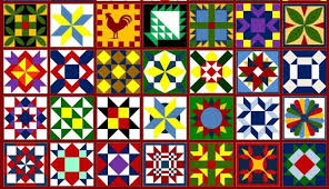 A Barn Quilt for your Garden | Flea Market Gardening & Just a few barn quilt patterns, courtesy Heritage Barn Quilts Adamdwight.com