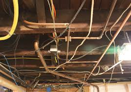 unfinished basement ceiling. Basement Ceiling Fabric And Unfinished On In A E