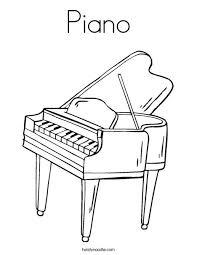 Kleurplaat Muziekinstrumenten Piano Kids N Fun De 62 Ausmalbilder