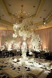 elegant black and white wedding