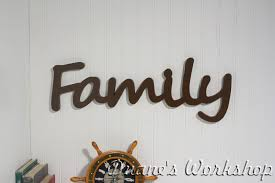 Family Wall Hanging home decor family signs. family wood sign stained wood  sign home