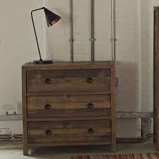 Lifestyle Standford Reclaimed Wood Medium Chest Of Drawers