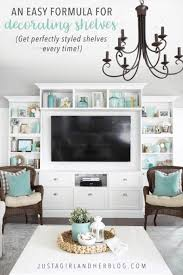 how to decorate shelves abby lawson