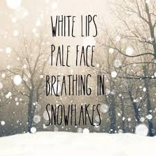 Winter Quotes Tumblr