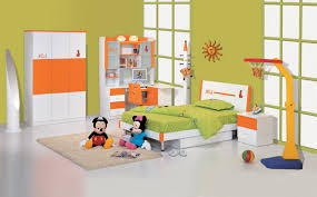 Kids Bedroom Furniture Desk Kids Room Orange Accent Kids Bedroom Furniture Set With