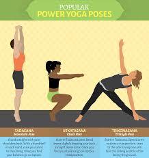 por power yoga positions