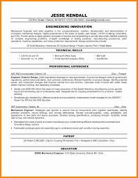 Sample Resume For Design Engineer Beautiful Mechanical Engineering