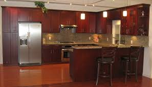 Cherry Shaker Kitchen Cabinets With Cherry Shaker Kitchen Cabinets
