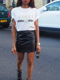 gucci outfits. gucci_t-shirt_womens-ootd-gucci_logo-gucci-ss17-gucci-autumn- gucci outfits