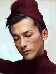 Digital Portrait Painting 50 Breathtaking Digital Painting Portraits For Your Inspiration