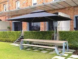 rectangular 45m x 35m silverblack rectangle patio umbrellas47 patio