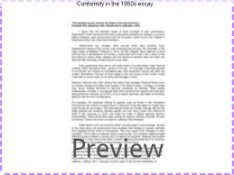 conformity in the s essay college paper writing service conformity in the 1950s essay conformity in the 1950s during the post wwii period in