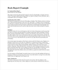 how to write a book report book report format 9 free word pdf documents download free