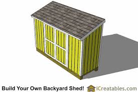4x12 lean to shed plans top
