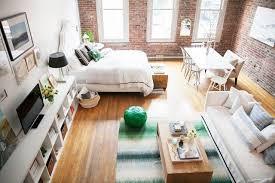 Small 1 Bedroom Apartment Decorating Ideas Custom Home Tour A Style Blogger's LaidBack Seattle Loft Ideas Diy