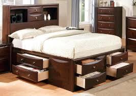 king platform storage bed. Contemporary Storage California King Platform Bed With Drawers Acme Storage In Espresso