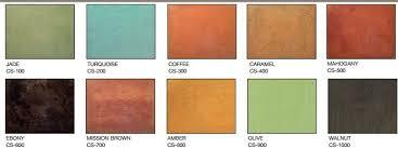 Brickform Acid Stain Color Chart Brick Form Brush Tone Acid Stain For Concrete Spec West