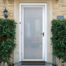 front door screensUnique Home Designs 36 in x 80 in White Surface Mount Outswing