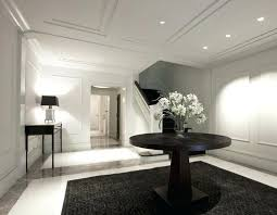 foyer round table entry foyer contemporary entry modern foyer table ideas