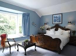best paint colors for furniture. Skybluecolorpaintbedroomideasinsideclassicstylebedroomsetbeequippedwithsmalltableandchairsbedroomalsodecorativewallmountlightingandwhitepopceiling Best Paint Colors For Furniture S