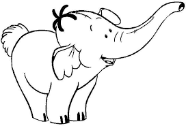 Small Picture Elephant coloring pages cartoon ColoringStar