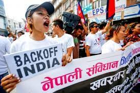 Image result for indian blockade of Nepal