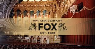 fox theatre celebrates 90th anniversary on friday september 21