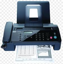 electronic fax free paper hewlett packard fax photocopier machine free png image paper