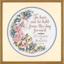 Wedding Cross Stitch Patterns Amazing Dimensions To Have And To Hold Wedding Record Cross Stitch Kit
