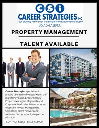 career strategies linkedin seeking a new manager for your portfolio career strategies team is here to help contact kelle bertagnolli anytime for national property management direct