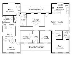 Bedroom House Floor Plan   VAline Bedroom House Floor Plans