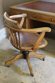 vintage oak 1930s adjule desk office chair antique swivel and revolving chairs office desk