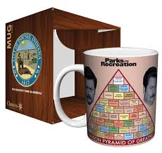 Parks Rec Ron Swanson Pyramid Of Greatness Coffee Mug