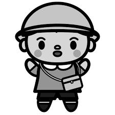 かわいい幼稚園の男の子の無料イラスト商用フリー オイデ43