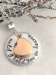 ashes necklace urn for ashes sympathy gift urn jewelry until i hold you in heaven loss of family memorial keepsake rose gold