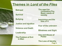 lotf exam prep analysis of power struggle quotations 4 powerpoint templates page 4 themes in lord of the flies