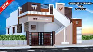 Ground Floor Front Elevation Design Home Creators House Elevation Small House Design Single