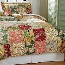 Floral Paisley Patchwork Quilt / Floral Paisley Quilt Set -- Orvis UK &  Adamdwight.com